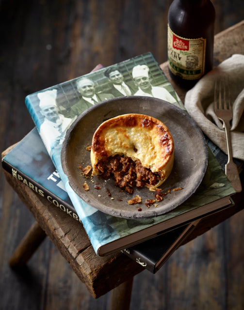 BF.  Traditional Mince Beef and Onion Pie