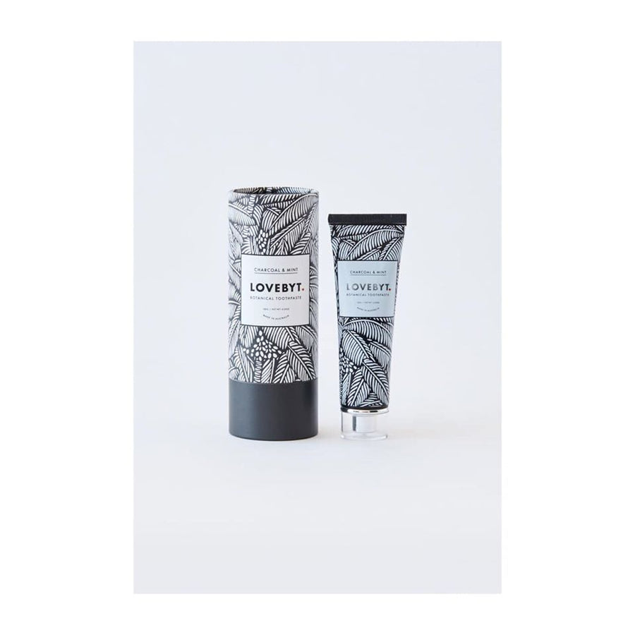 L. Charcoal & Mint toothpaste