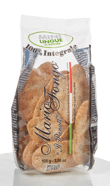 O. Mario Fongo Mini Wholemeal Lingue 100g