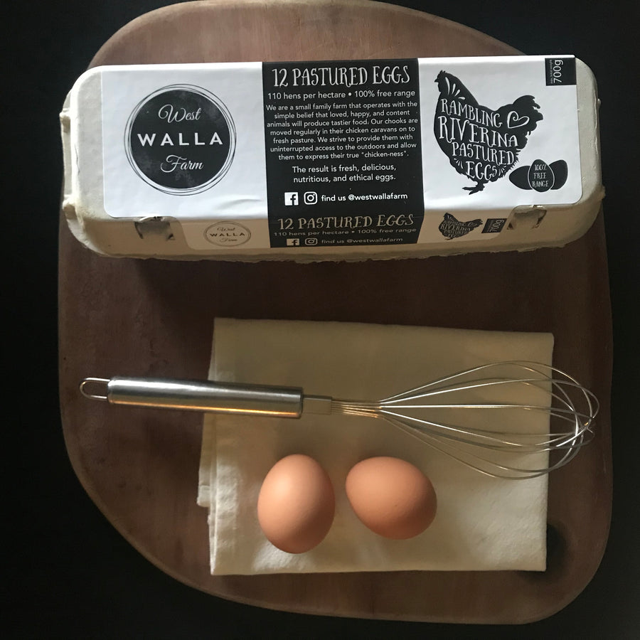 WW. Rambling Riverina Pastured Eggs 700g