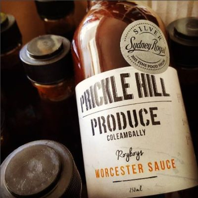 PH. Prickle Hill Worcester Sauce - 250ml Bottle