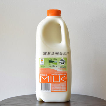 CV. Country Valley 2L Unhomogenised Milk