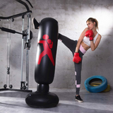 Freestanding Heavy Stand Punching Bag with 360° Reflex Bar