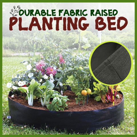FABRIC RAISED BED--50% OFF TODAY