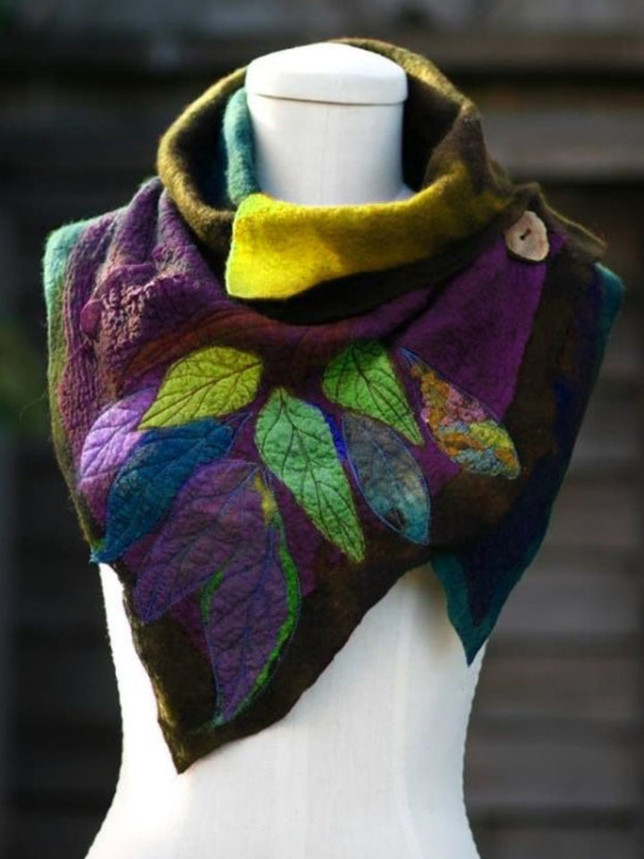 Women Polyester Holiday Scarf  of 5 Colors