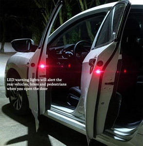 Factory Outlet - SAVE 50% OFF---Universal Wireless Car Door LED Warning Light Shinning Blinking Light