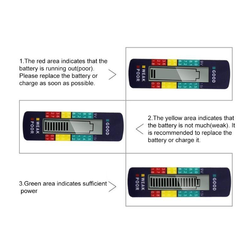 Digital LCD Battery Tester
