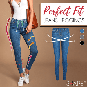 Yoga pants--Premium Fit Jean Legging by Exuberance™