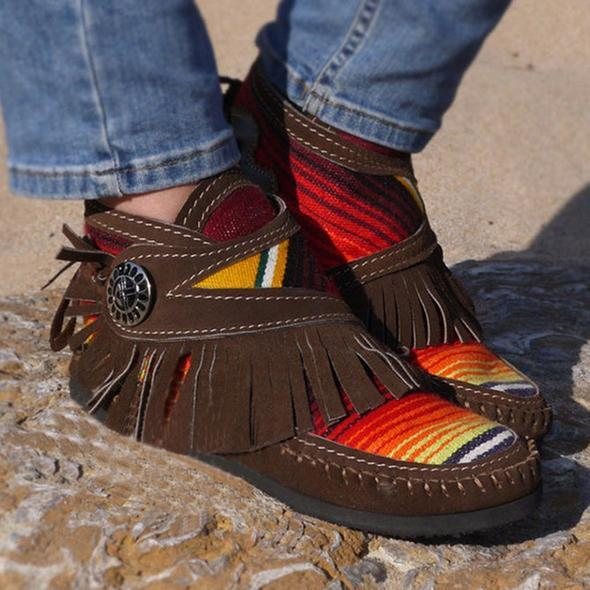 🔥50% OFF Online Sale🔥 Cowgirl Leather Moccasins
