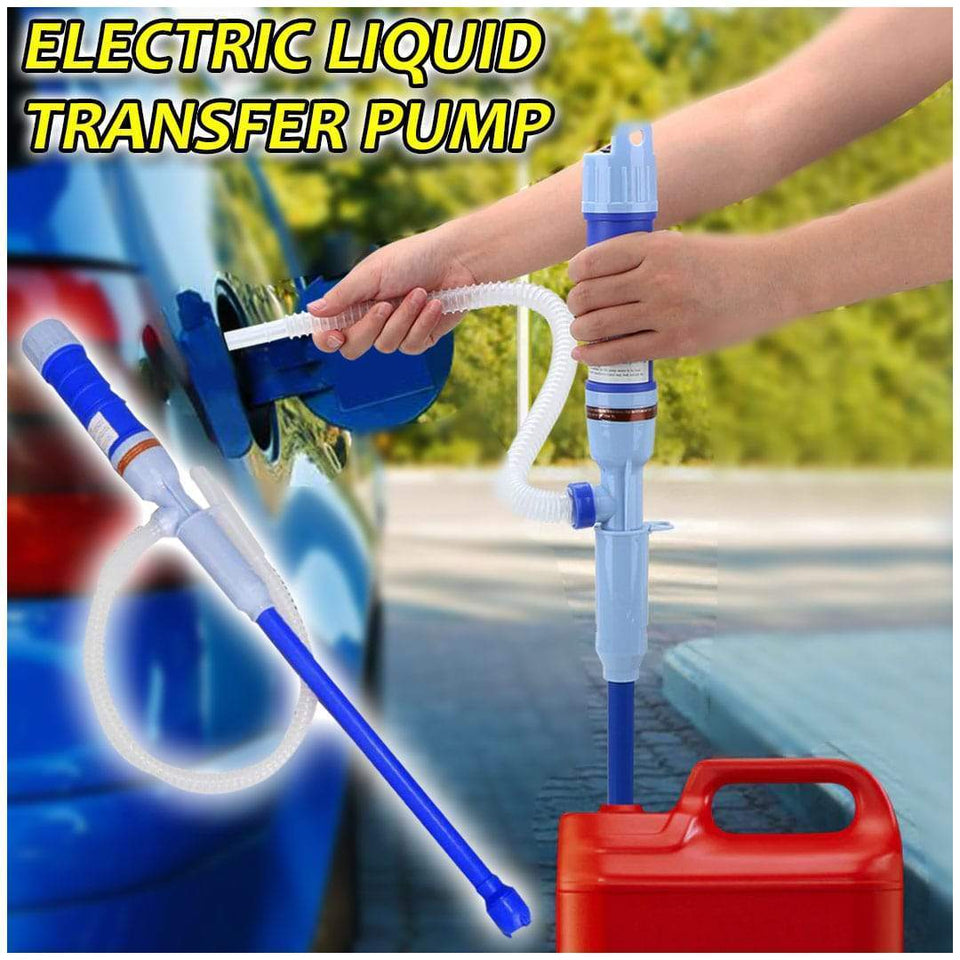 (Big summer promotion: 50% OFF-Free shipping over $49.99) : Portable Electric Liquid Transfer Pump
