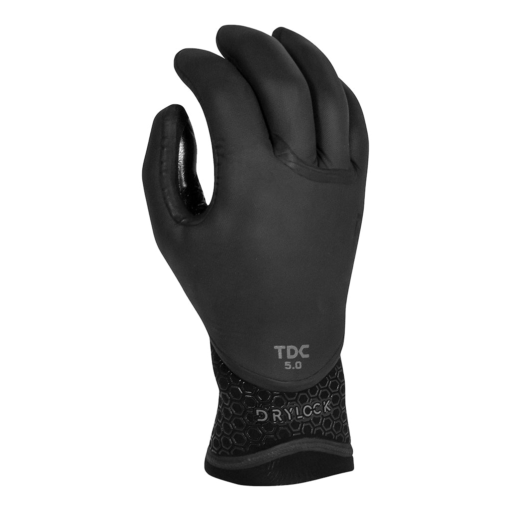 MENS DRYLOCK TEXTURE SKIN 5 FINGER GLOVE 5MM FA20