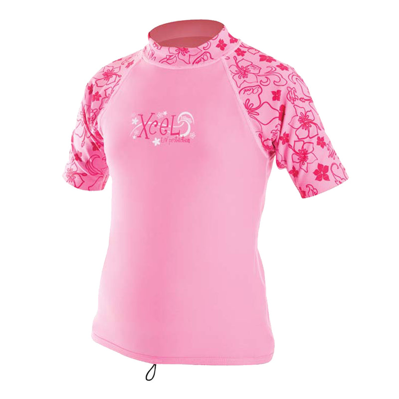 GIRLS S/S LYCRA SHIRT SP09