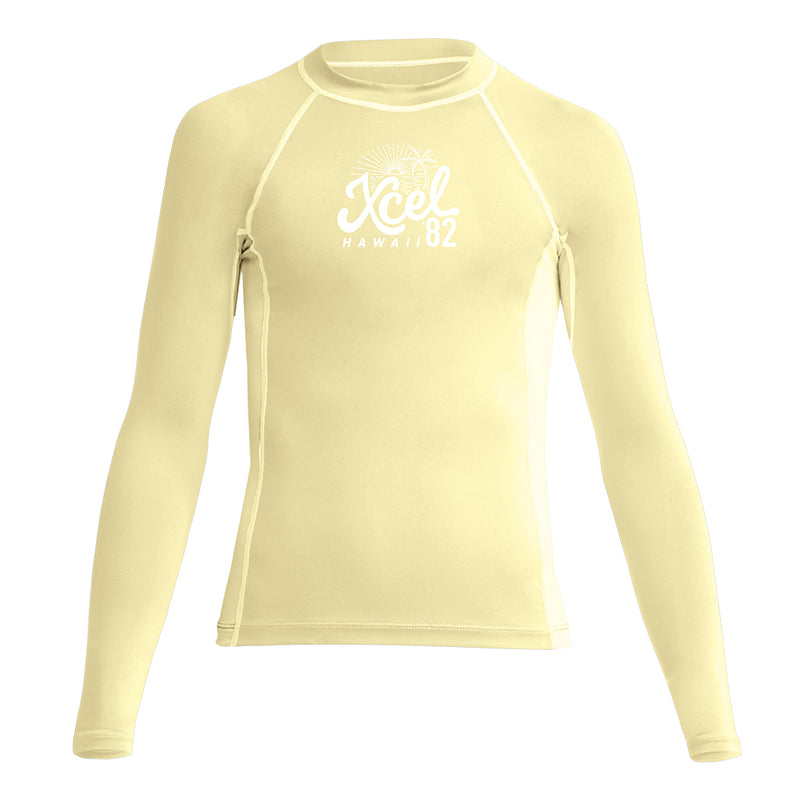 GIRLS PREMIUM STRETCH LONG SLEEVE PERFORMANCE FIT UV SP20