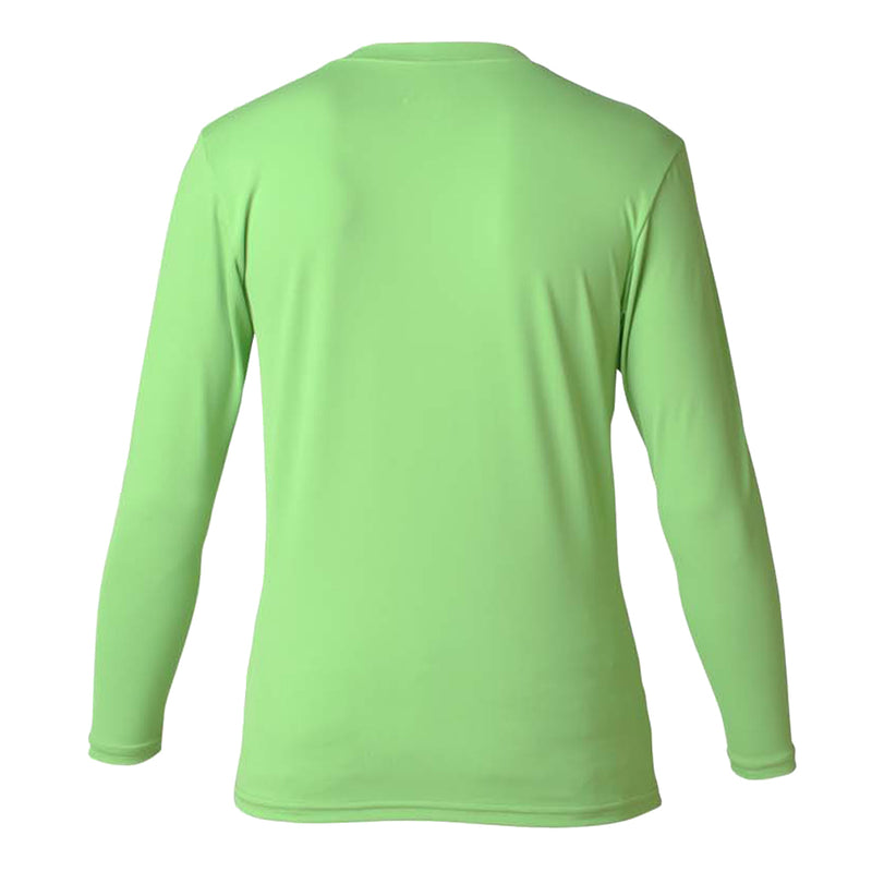 Girls rash guard long sleeve front view