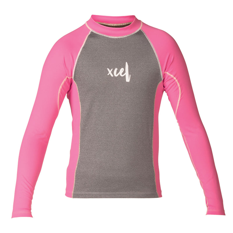 GIRLS IZZY L/S UV TOP SP18