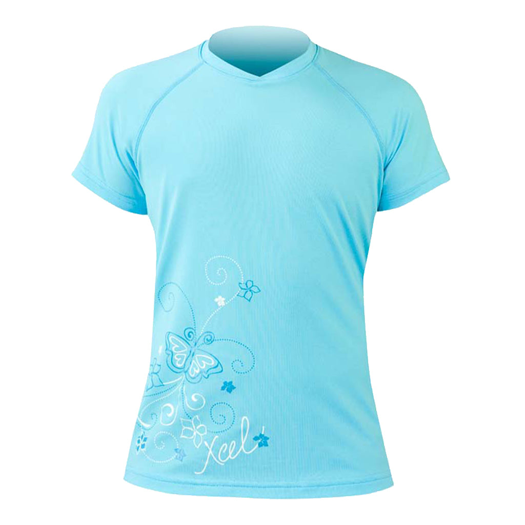 GIRLS VENTX S/S UV T-SHIRT W/GRAPHICS SP10