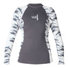 GIRLS WATER INSPIRED PREMIUM STRETCH LONG SLEEVE PERFORMANCE FIT UV SP20