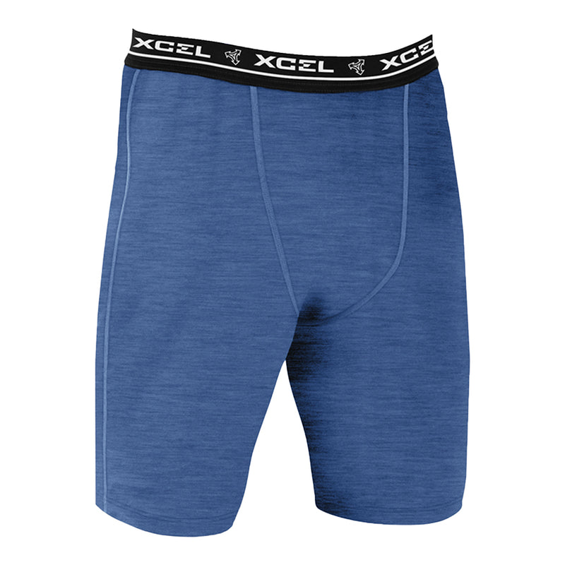 YOUTH HEATHERED VENTX UNDERSHORT SP20