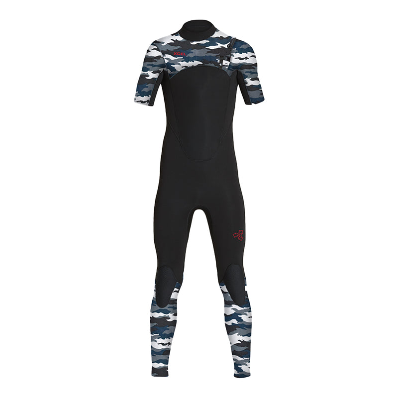 YOUTH COMP SHORT SLEEVE 2MM FULLSUIT SP20