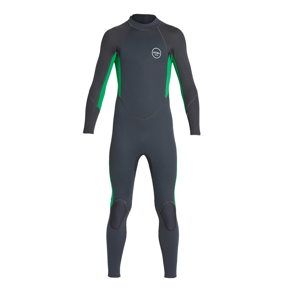 YOUTH AXIS FULLSUIT BACK ZIP FULL 3/2MM SP19
