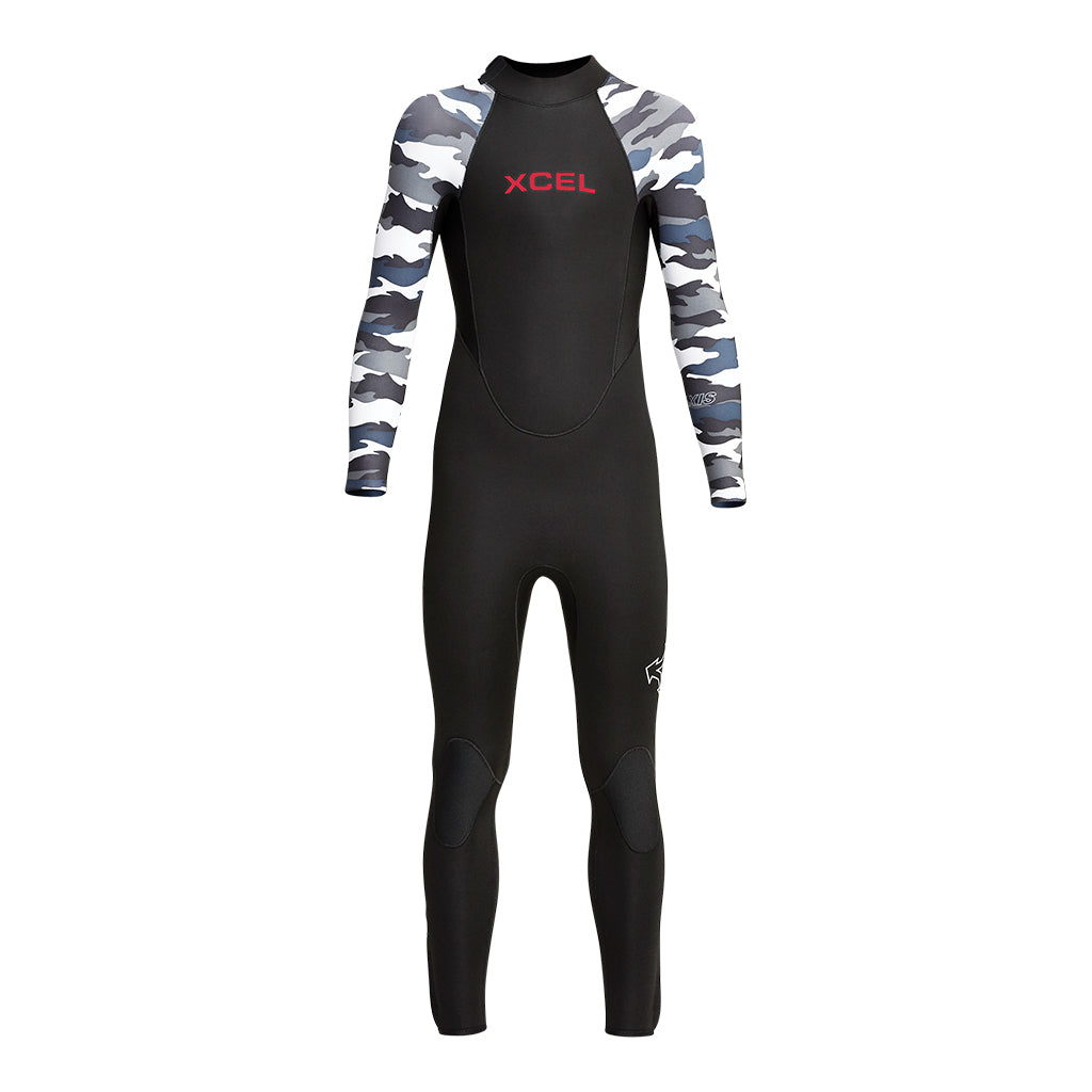 YOUTH AXIS BACK ZIP 4/3MM FULLSUIT FA20