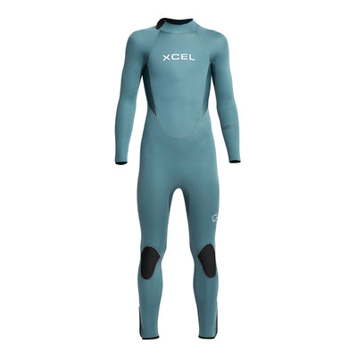 YOUTH AXIS BACK ZIP 4/3MM FULL WETSUIT FA20