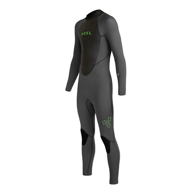 YOUTH AXIS BACK ZIP 3/2MM FULLSUIT FA19