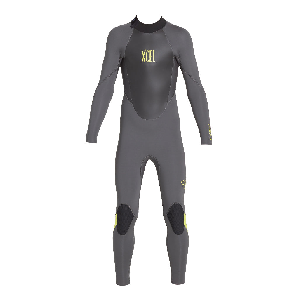 YOUTH 5/4MM AXIS BACK ZIP FULLSUIT FA18