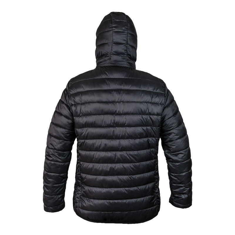 MENS HOODED PUFFY JACKET