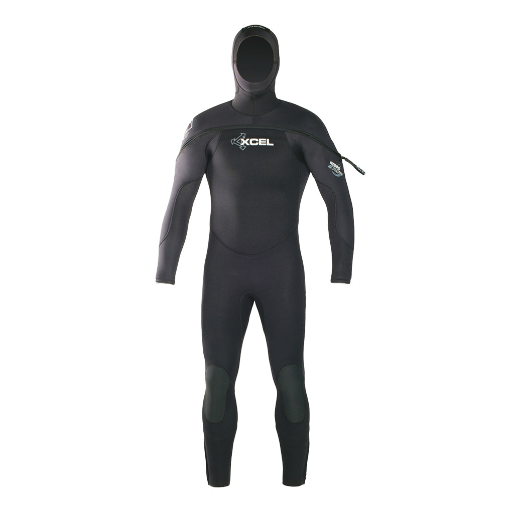 MENS POLAR HYDROFLEX HOODED 8/7/6MM DIVE FULLSUIT DV20