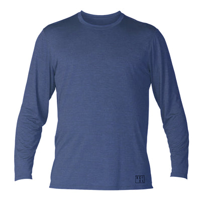 MENS PERFORMX SOLID LONG SLEEVE UV SP20