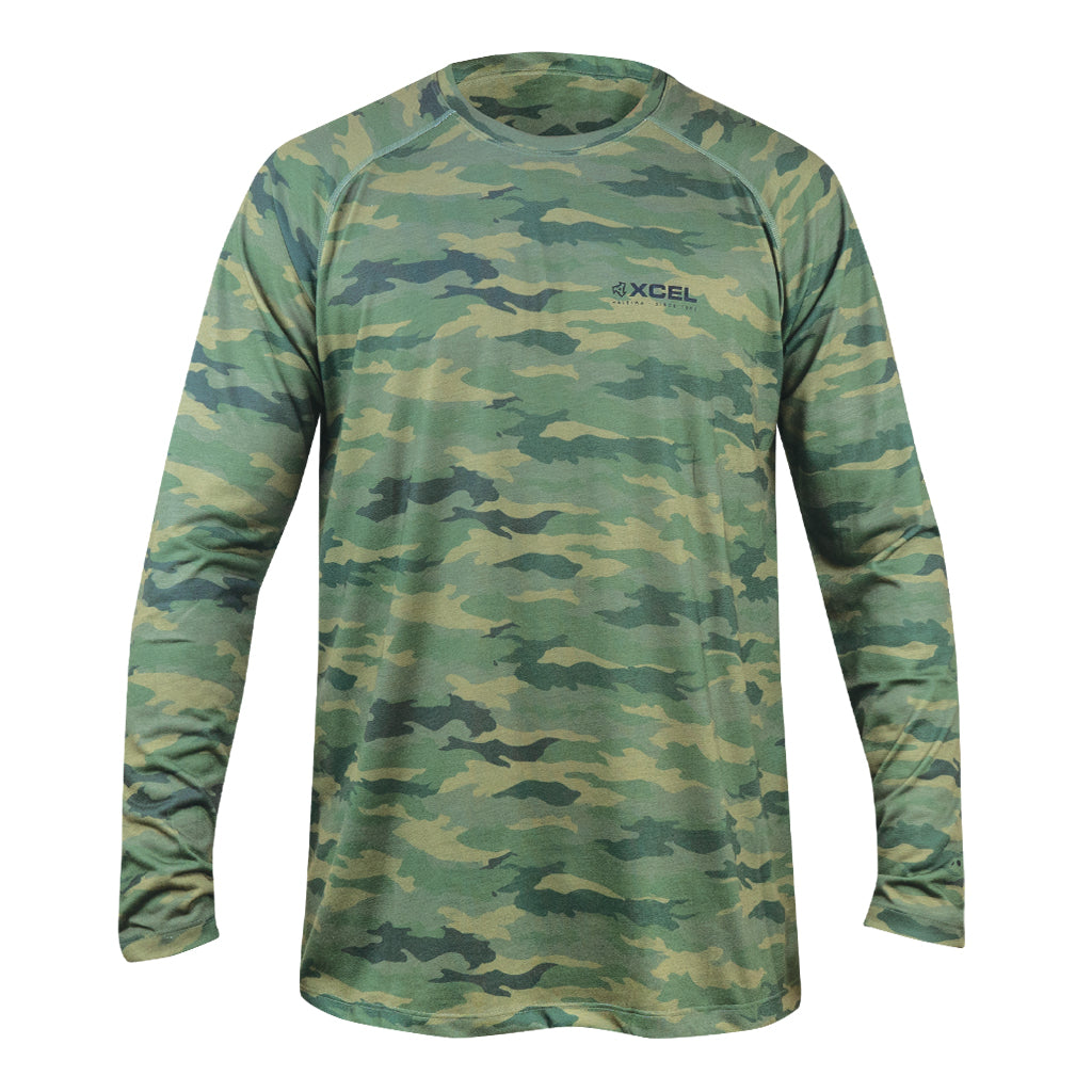 MENS THREADX HAWAIIAN CAMO LONG SLEEVE UV SP21