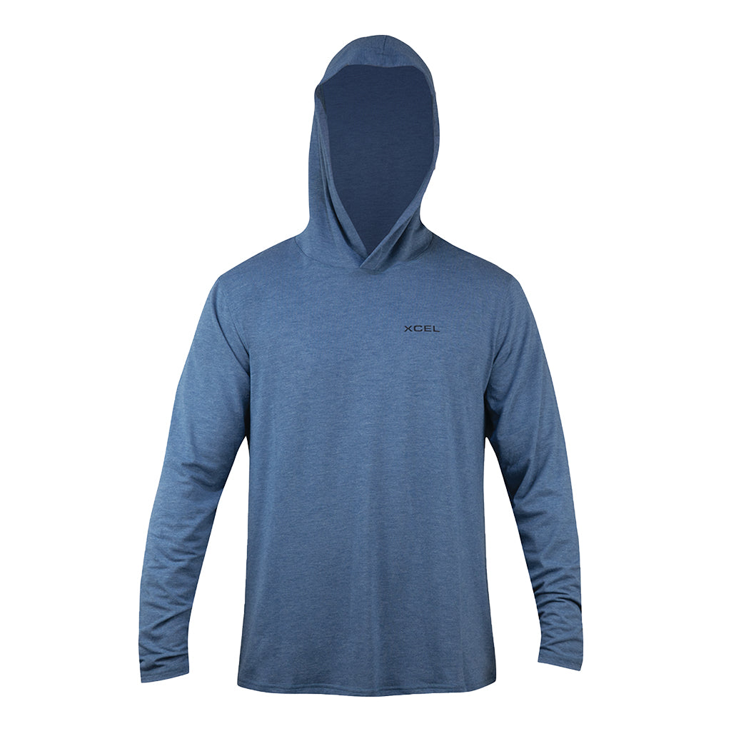 MENS THREADX HOODED PULLOVER LONG SLEEVE UV SP21