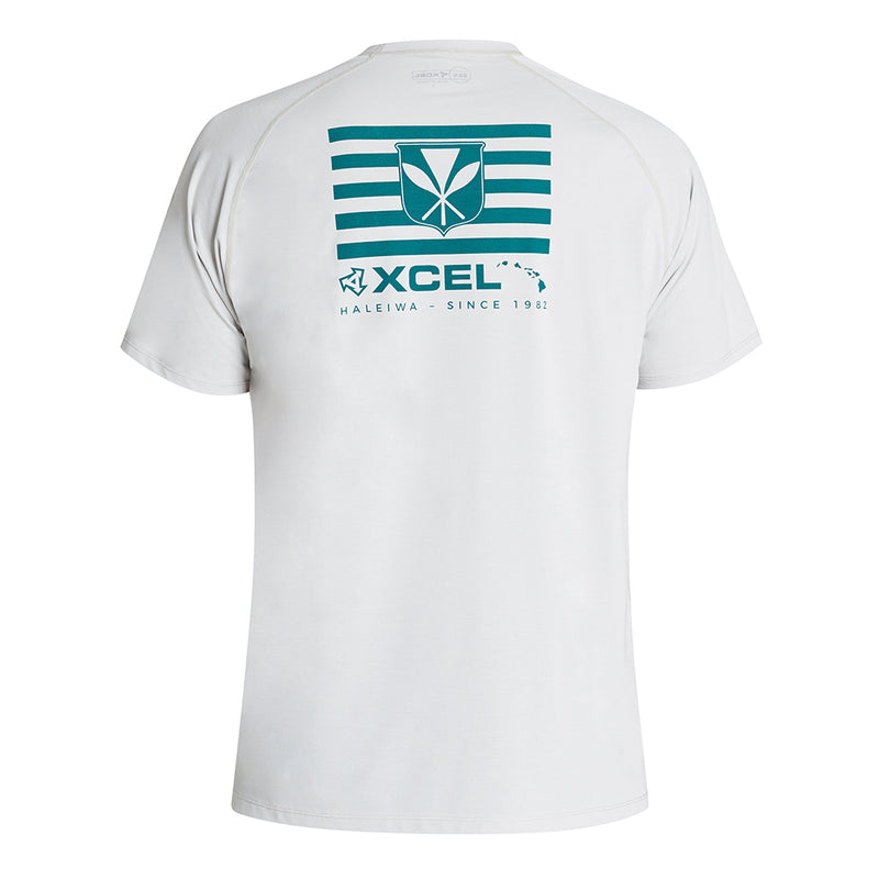 MENS HEATHERED VENTX KANAKA MAOLI SHORT SLEEVE UV SP20