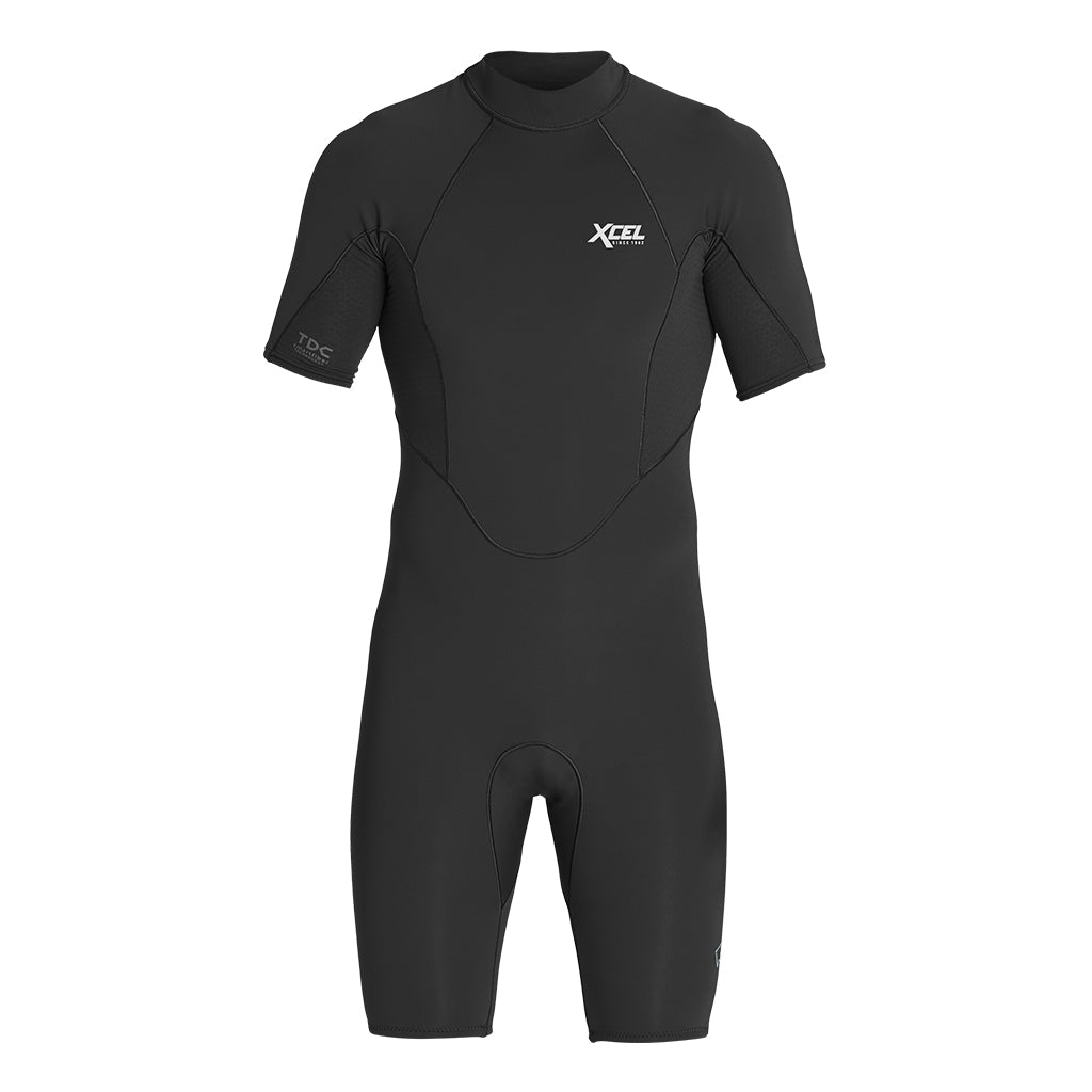 MENS COMP X NEOSTRETCH TDC SHORT SLEEVE BACK ZIP 1/0.5MM SPRING WETSUIT SP21