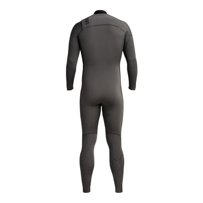 Back view wetsuit Gray