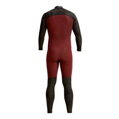 Back view inside of wetsuit