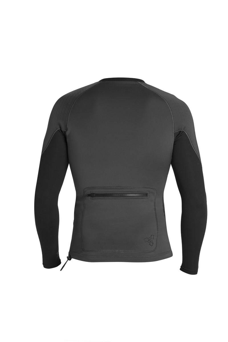 MENS SCOUT PERFORATED NEOPRENE LONG SLEEVE 1.5/0.5MM JACKET SP21