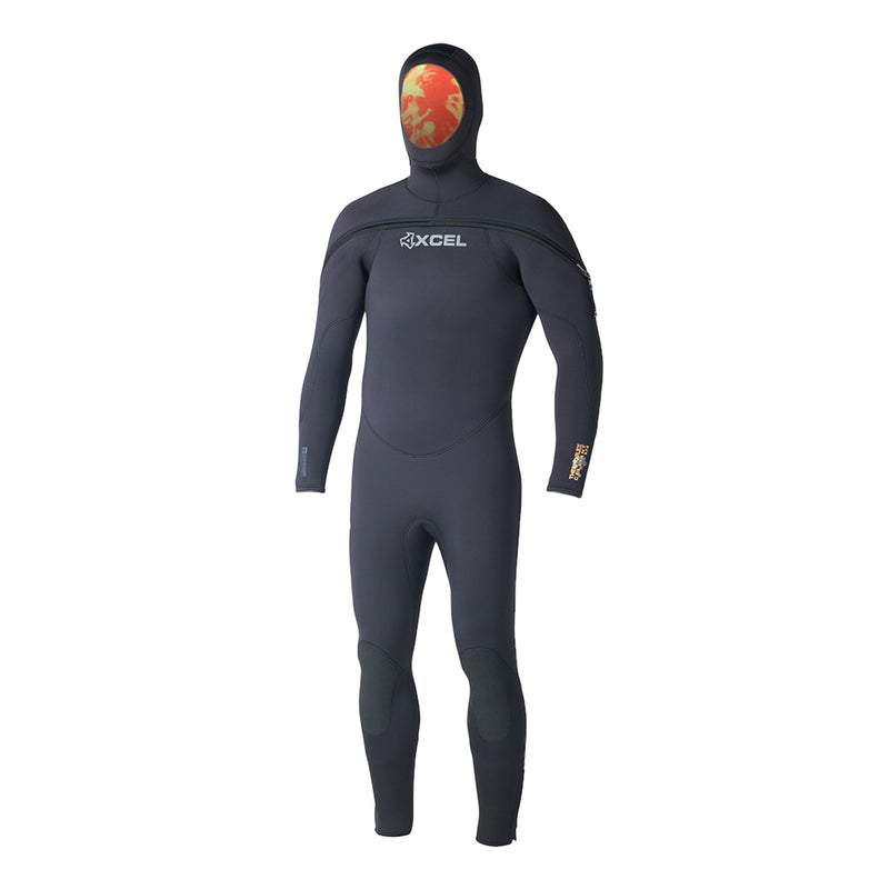 MENS POLAR THERMOFLEX TDC 9/7/6MM HOODED DIVE FULL WETSUIT DV20