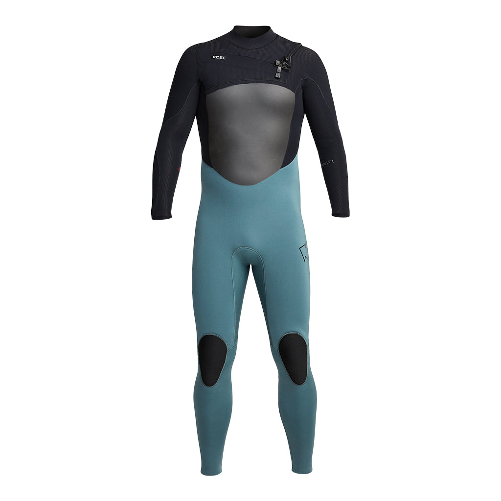 Mens full wetsuit front view
