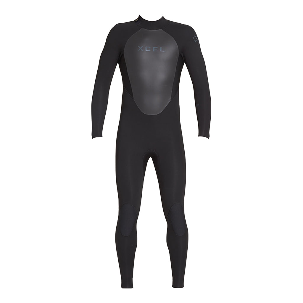 MENS AXIS BACK ZIP 4/3MM FULLSUIT FA19