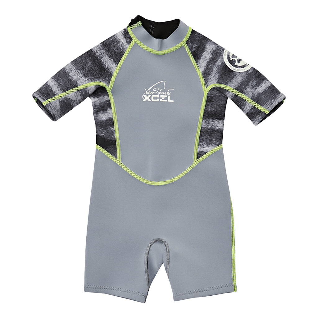 TODDLER WATER INSPIRED SHORT SLEEVE 1MM SPRINGSUIT SP20