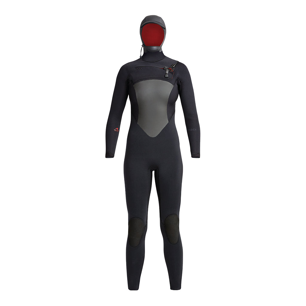 WOMENS DRYLOCK HOODED 6/5MM FULLSUIT FA19
