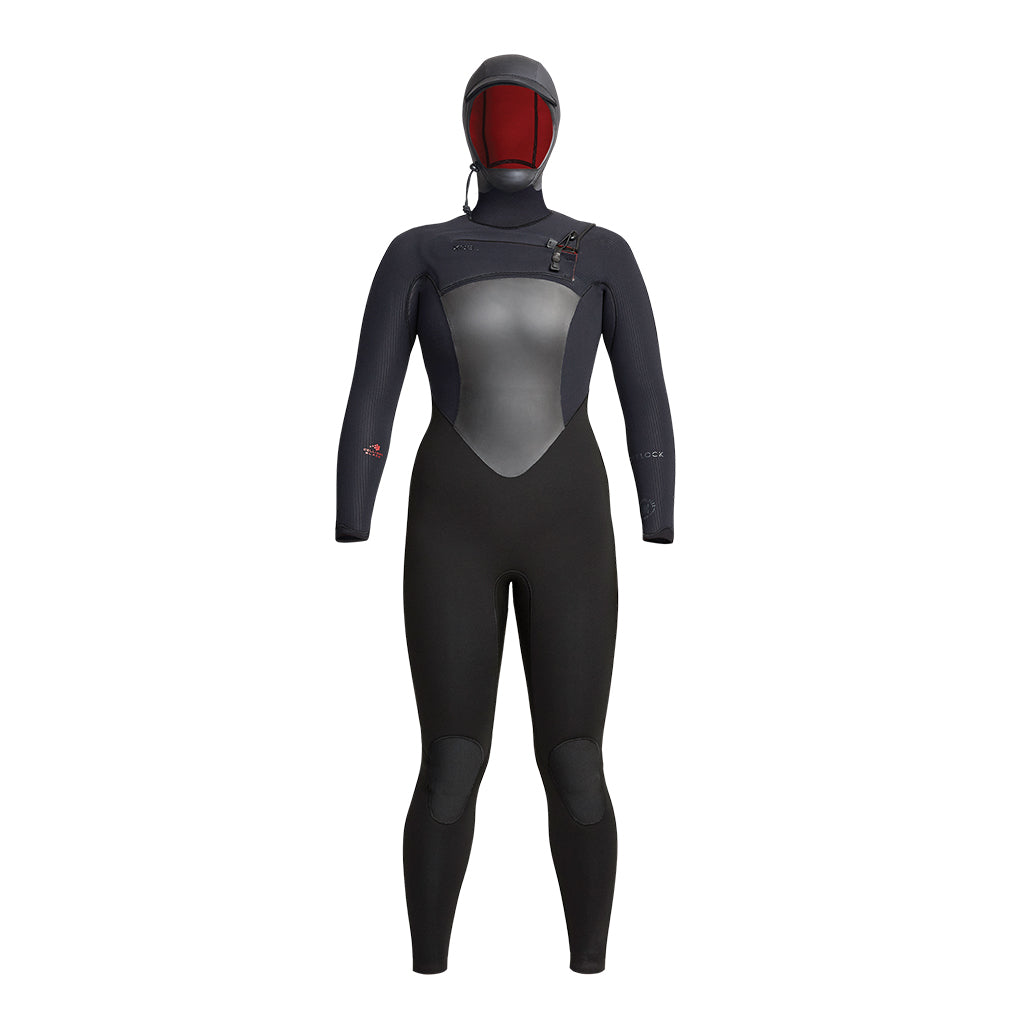 WOMENS DRYLOCK 6/5MM HOODED FULLSUIT FA20