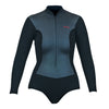WOMENS INFINITI GLIDESKIN LONG SLEEVE FRONT ZIP 2MM SPRINGSUIT SP20