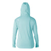 WOMENS KAMMIES L/S FRONT ZIP HOODIE HEATHERED SP17