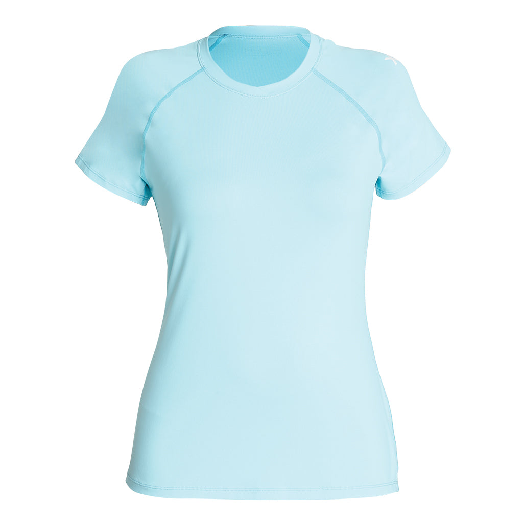 WOMENS VENTX SOLID SHORT SLEEVE UV SP20