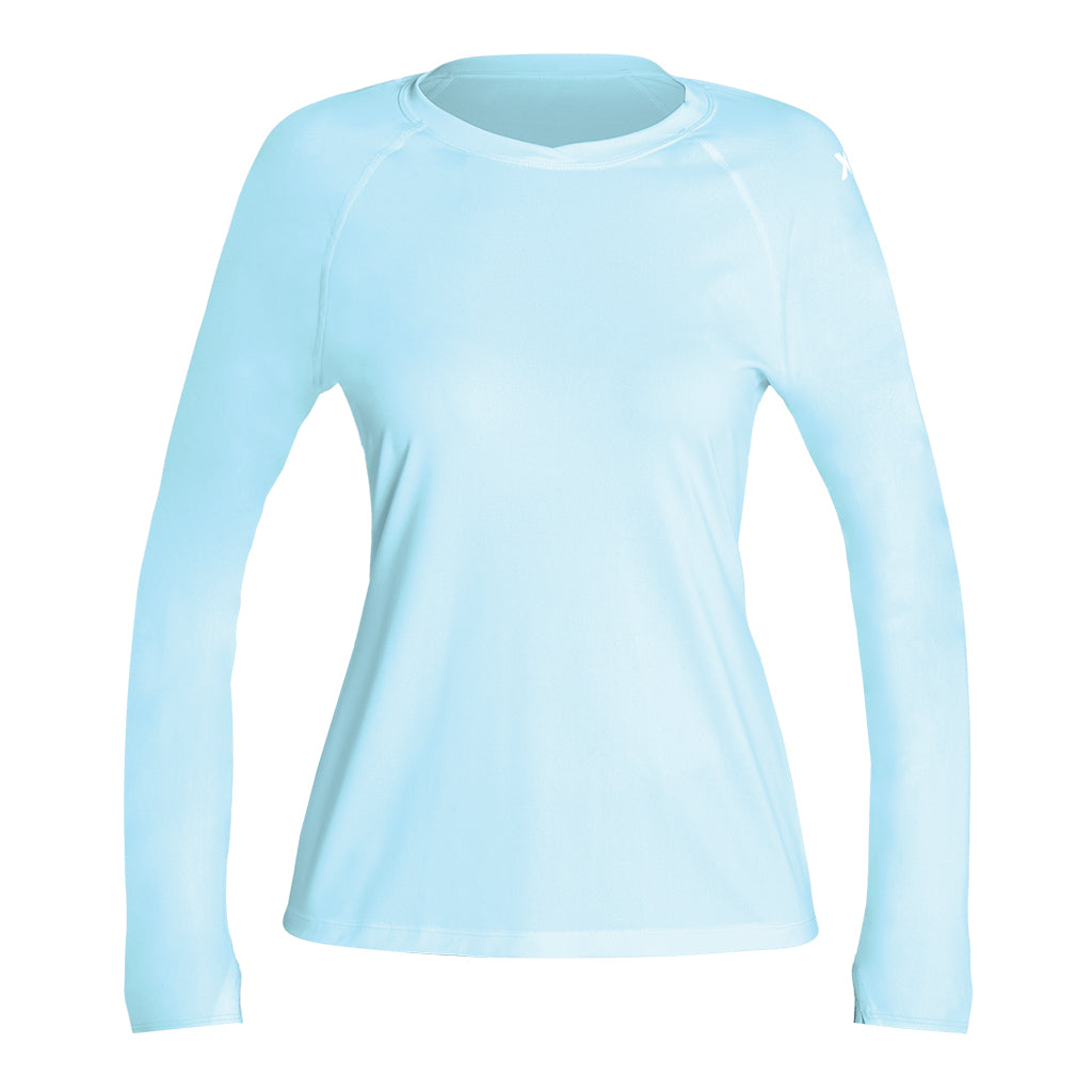 WOMENS VENTX SOLID LONG SLEEVE UV SP21