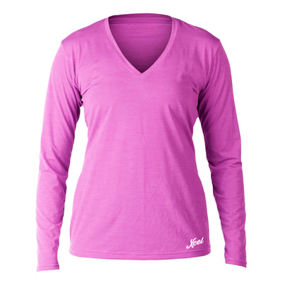 WOMENS PUPUKEA V-NECK L/S VENTX SP16