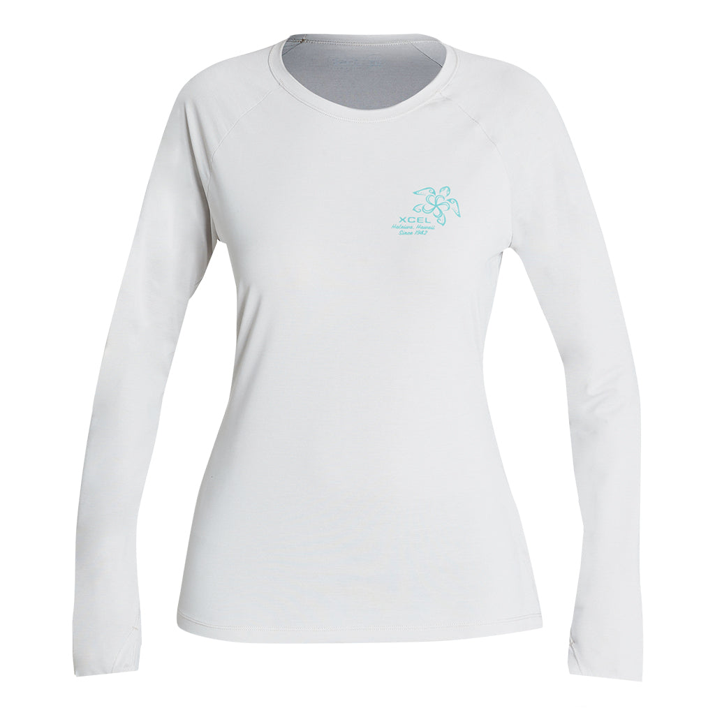 WOMENS HEATHERED VENTX HONU LONG SLEEVE UV SP20